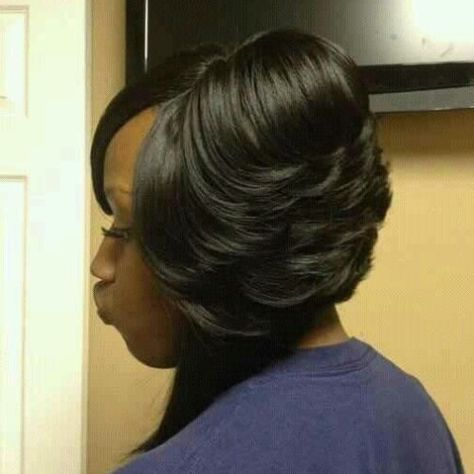 African American Feathered Bob Hairstyles Bob Hairstyles African American Bobs Hairstyles Hair Styles