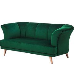 Art Deco Style Pink Velvet And Brass Curved Sofa Tokyo Art Deco