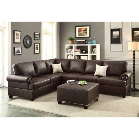 A J Homes Studio Mario Sectional Walmart Com With Images