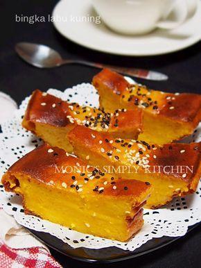 Bingka Labu Kuning Resep Labu Kuning Resep Makanan