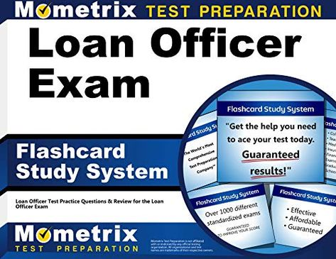 Free Download Pdf Loan Officer Exam Flashcard Study System Loan Officer Test Practice Questions Review For The This Or That Questions Exam Cards Flashcards