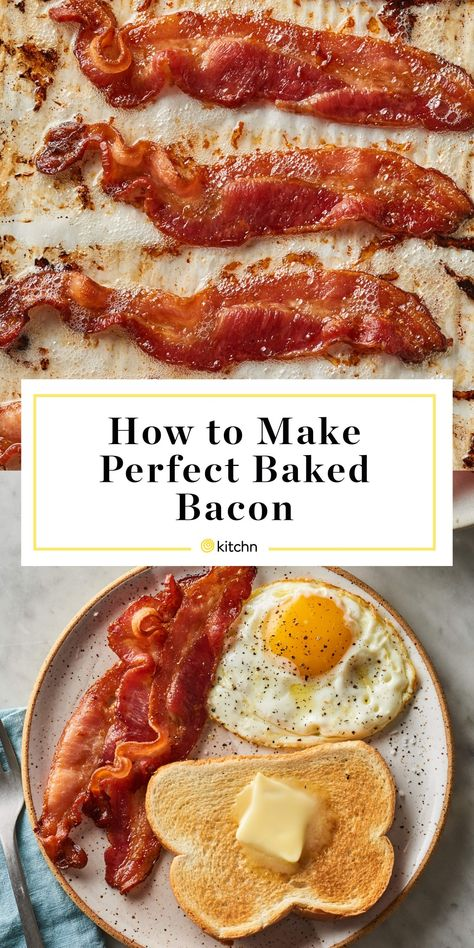 Crispy, smoky bacon is one of life's greatest pleasures. But cooking is often not. We've got an easy, simple method for cooking perfect bacon, all in the oven. It's the best way to cook a lot of bacon all at once — enough for a crowd! Here's how to do it.