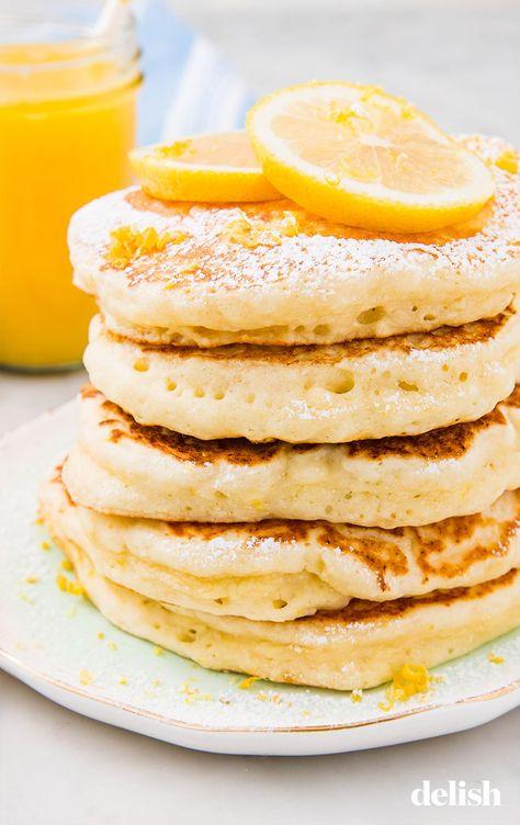 Lemon Ricotta Pancakes Are Ultimate Brunch GoalsDelish