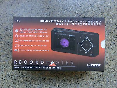 HDMI Video//Game Capture Recorder 1080p 60fps Live Streaming Device TMREC-FHD NEW