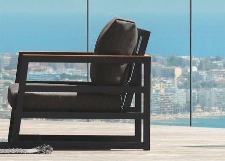 fauteuil jardin design italien