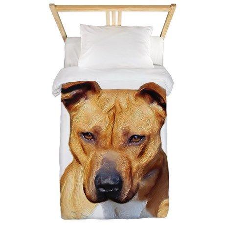 pitbull comforter