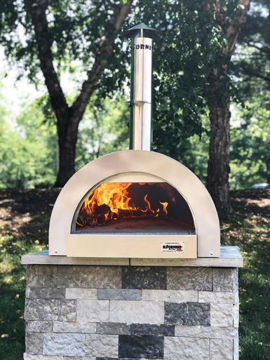 Ilfornino F Series Mini Professional Stainless Steel Wood Fired Pizza Oven Wood Fired Pizza Oven Pizza Oven Wood Fired Pizza
