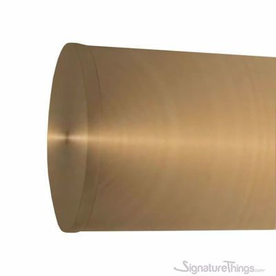 Flush End Cap For Brass Rods In 2020 Acrylic Curtain Rods Brass