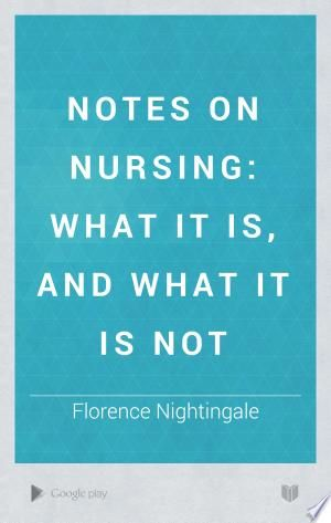 Download Notes On Nursing Free Nursing Books Healthy Book Nutrition Education