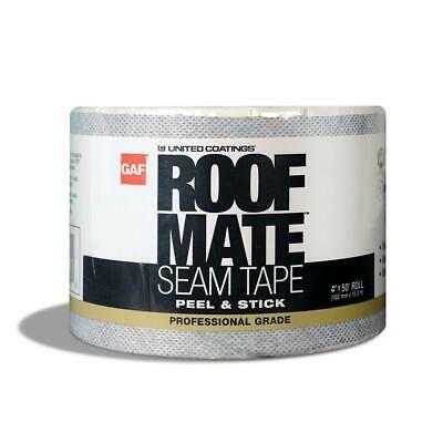 Sponsored Ebay Gaf Roof Mate Seam Tape 4 In X 50 Ft Polyester Reinforced Self Adhering Repair Repair Tape Roof Repair Sealant