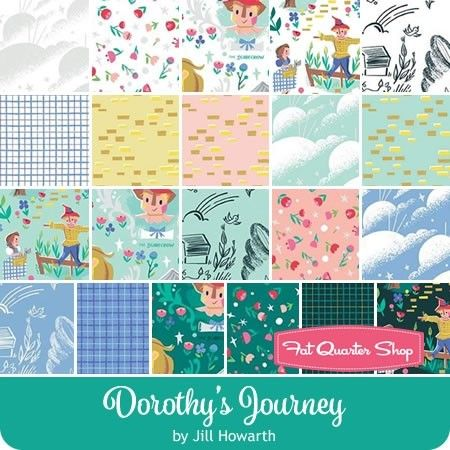 Image result for dorothy's journey fabric