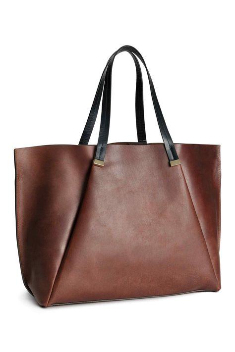 scarpe di separazione 6adb0 342d3 Borsa in pelle | H&M | Fabrics craft & Sewing Patterns ...