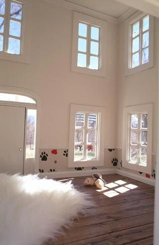 Inside View Of A Luxury Dog House As Posted For Sale On Opulent