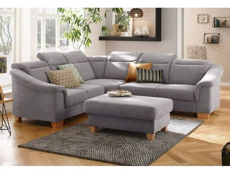 Premium Collection By Home Affaire Ecksofa Empire Federkern Grau Bed Linen Sets Home Collections Couch
