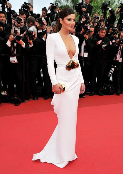 Cheryl Cole in Stephane Rolland Couture, 2011 - The Most Daring Dresses on the Cannes Red Carpet - Photos
