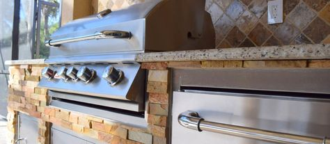 Are Outdoor Kitchens Worth The Investment Outdoor Kitchen Outdoor Living Areas Stainless Steel Doors