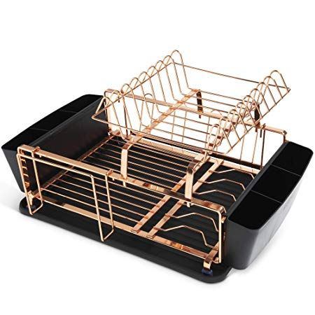 Escu Dish Drying Rack For Kitchen Countertops And Sink