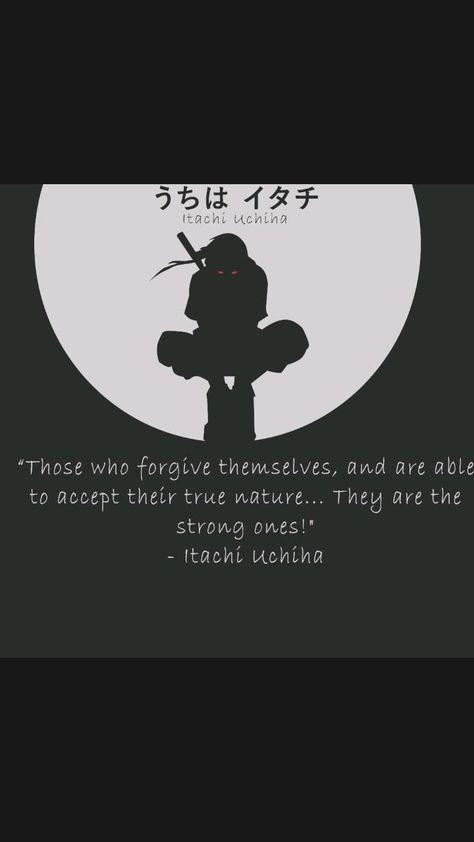 Itachi Uchiha quotes from Naruto Shippuden