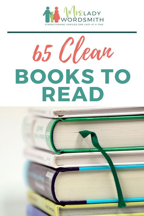 65 Clean Books to Read