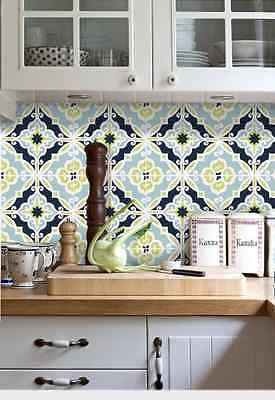 Details About Wall Tile Sticker Kitchen Bathroom Decorative Decal