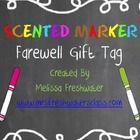 Grab some scented markers and print of this adorable tag to give your kiddos a scent-sational year-end gift they will love!!! ...