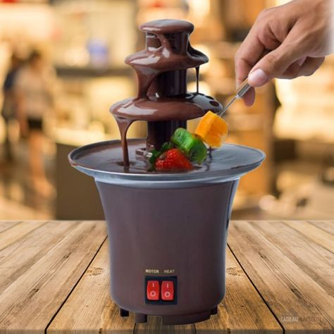 Fontaine A Chocolat American Dream Dessert Gourmand Fontaine