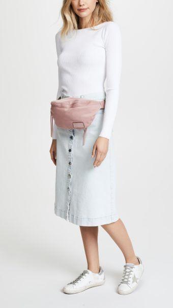 ad8f18c7f95569 Nylon Belt Bag By Rebecca Minkoff   LUX Woman   Belt, Bags, Rebecca ...
