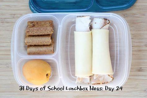 31 Days of School Lunchbox Ideas - Day 24 | 5DollarDinners.com