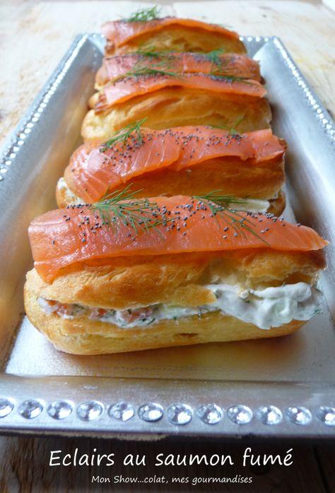 Eclairs au saumon fumé et Granny Smith - Mon Show...colat, mes gourmandises