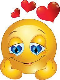 Smileys verliebt