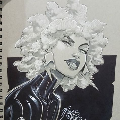 Draw Cartoons Inking again on day 2 of NYCC and progressing to mid length hair for Storm. This one is unclaimed so far. Cartoon Drawings, Art Drawings, Comic Drawing, Old Cartoon Shows, Black Anime Characters, Black Girl Art, Old Cartoons, Magic Art, Character Design Inspiration