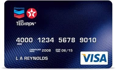 Chevron Credit Card Requirements And Customer Service
