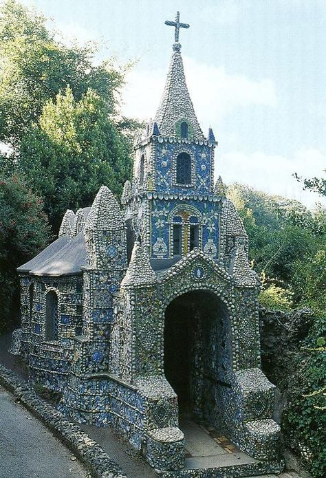 A work of art and a labour of love, the Little Chapel is possibly the smallest chapel in the world. It was built by Brother Déodat who started work in March 1914. His plan was to create a miniature version of the famous grotto and basilica at Lourdes in France. Guardianship of the Little Chapel now rests with Blanchelande Girls College which is run by a Charitable Trust. The Little Chapel is beautifully decorated with seashells, pebbles and colourful pieces of broken china and the College…