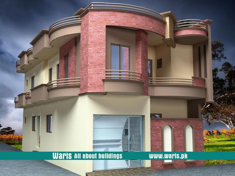 Waris house marla  view elevation  in gujranwala pakistan also rh pinterest