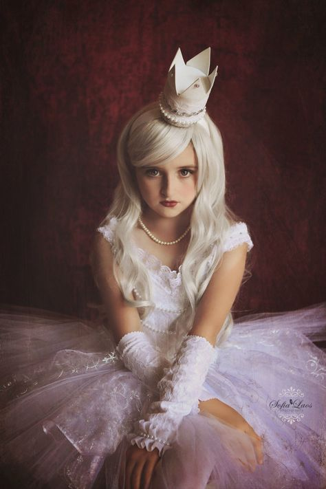 White Queen Inspired Dress From Alice Through The Looking Glass