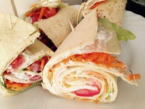 Easy Snack Wraps Snack Ideen Rezepte Lebensmittel Essen