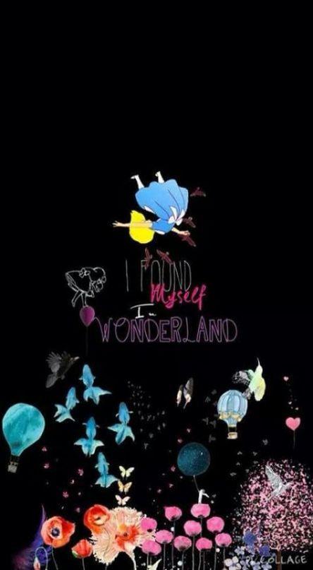 20 Ideas Quotes Disney Adventure Alice In Wonderland For 2019 Disney Alice Wonderland Wallpaper Iphone Disney