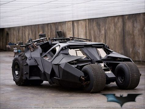 "Batman's Batmobile from the film ""Batman Begins"" & ""The Dark Knight"""
