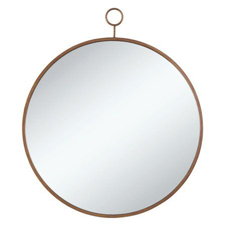 Coaster Company Transitional Circular Design Mirror Gold 36 X30 Walmart Com In 2020 Round Wall Mirror Mirror Wall Round Gold Mirror