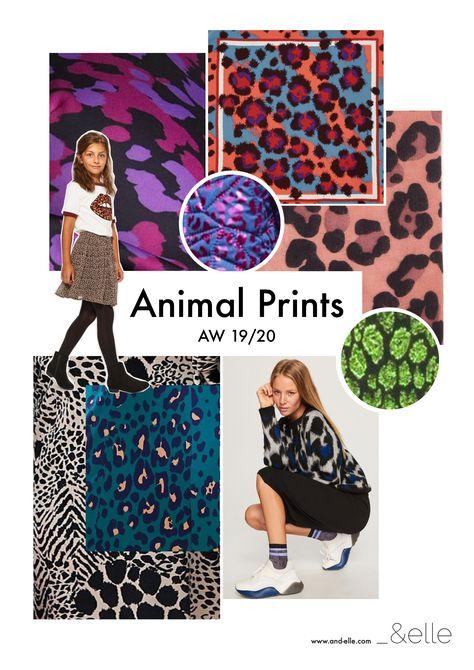 Animal Prints Kidswear Trend AW19/20