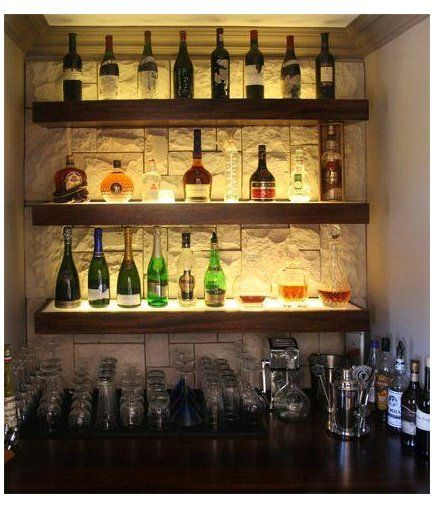 Small Home Bar Ideas Maximizing Wall Niche Space Smallhome In 2020 Small Bars For Home Building A Home Bar Home Bar Designs