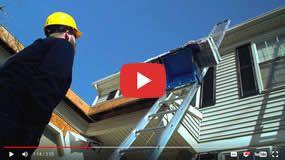 Ladder Lift Roofing Shingle Elevator Power Ladder Platform Hoist For Materials Ladder Hoist Shingling