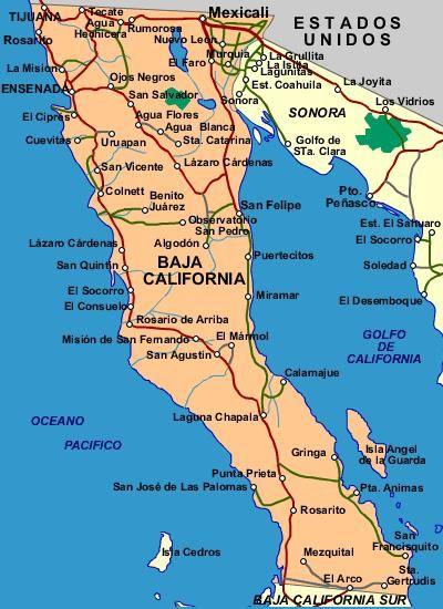 Estado De Baja California Playa De Rosarito Baja California Turismo En Mexico