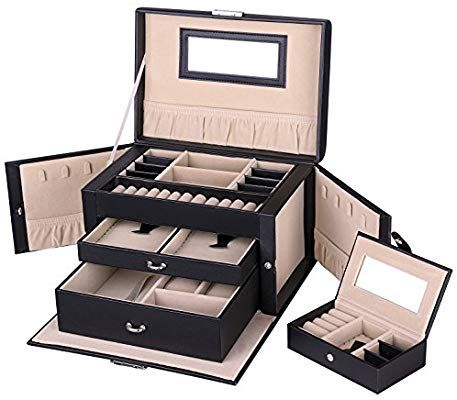 Brouk and Co Bright White High-Gloss Jewelry Box