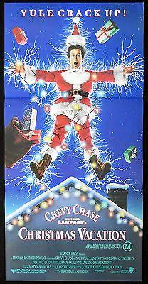 NATIONAL LAMPOONS CHRISTMAS VACATION Original daybill Movie
