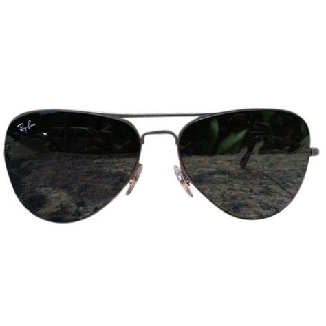 615fe8616786d Pre-owned Ray-ban Aviator Sunglesses ( 105) ❤ liked on Polyvore featuring  accessories