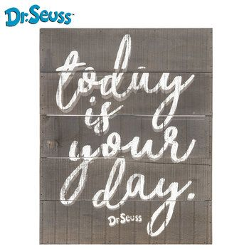 Today Is Your Day Wood Wall Decor Wood Wall Decor Mirror Wall Decor Wall Art Quotes