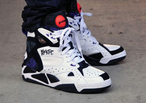 Reebok Pump Blacktop Battleground Black & White | Shoes