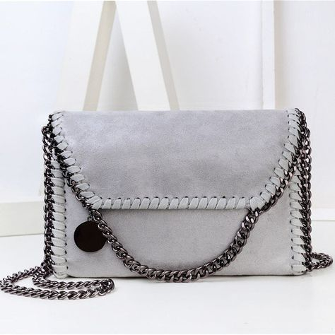 6ca75fbf60 NIGEDU Fashion Womens design Chain Detail Cross Body Bag Ladies Shoulder  bag clutch bag bolsa franja luxury evening bags