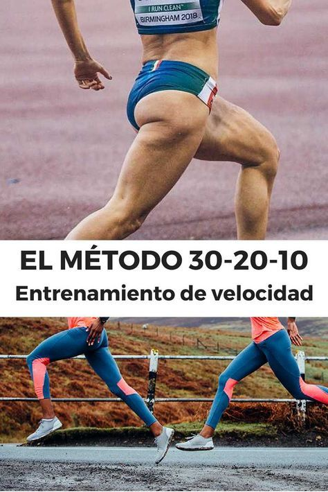 Entrenamiento De Velocidad El Método 30 20 10 Entrenamiento Para Correr Entrenamiento Para Carrera Rutinas De Entrenamiento